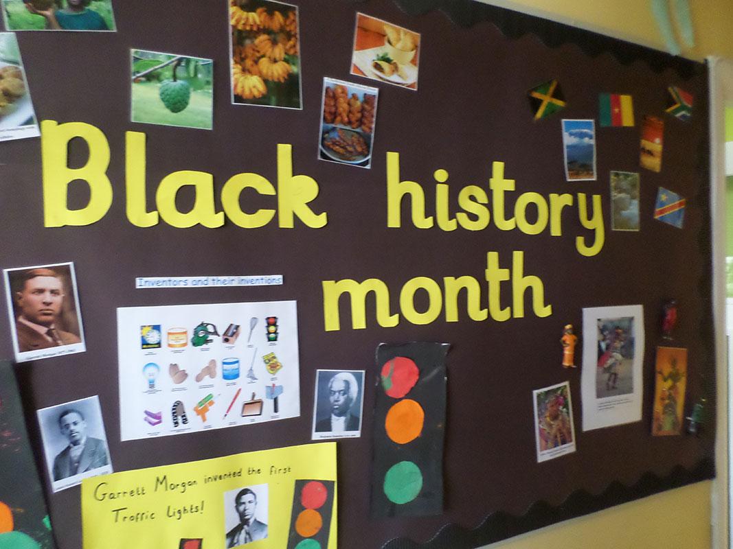Black History Month Regent Nursery School